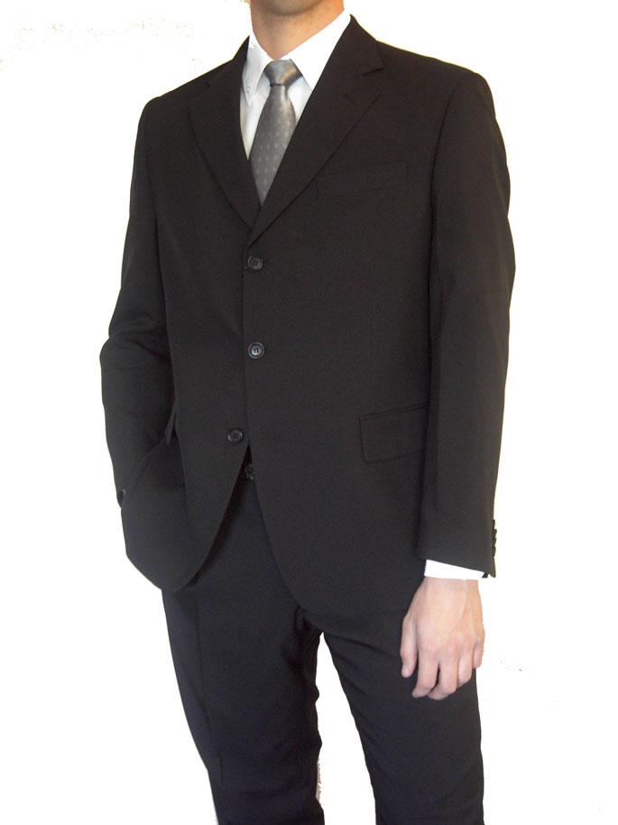 perforación negro trajes