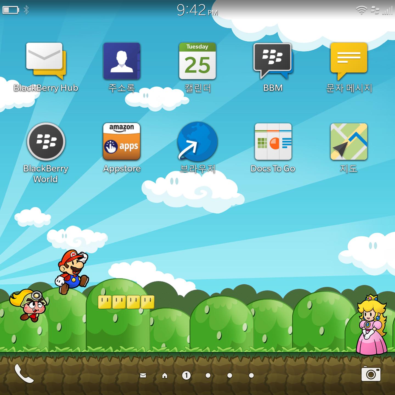OS10 Super Mario Wallpaper