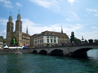 iglesia Grossmunster en Zurich