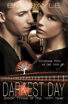 Cover Reveal: Darkest Day (The 19th Year #3) by Emi Gayle