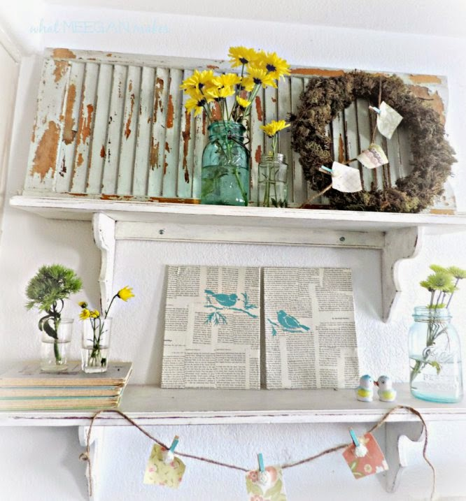 Spring Shelves 2014 @ What Meegan Makes