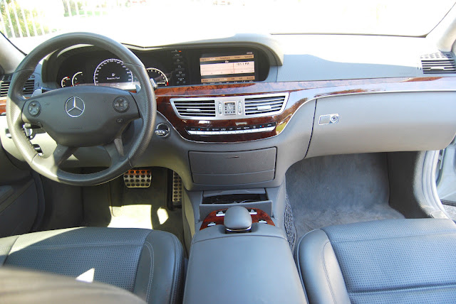 w221 interior amg