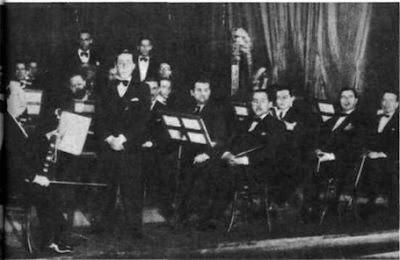 Julio De Caro y su orquesta en 1926