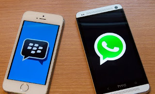 BlackBerry Messenger WhatsApp