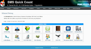 SMS Quick Count / SMS Pilkada / SMS Real Count / SMS Poling