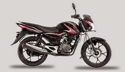 Bajaj Discover 100 M Midnight Black & Red