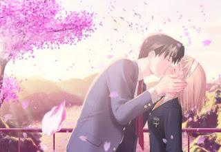 anh hôn nhau đẹp, hoạt hình hôn nhau