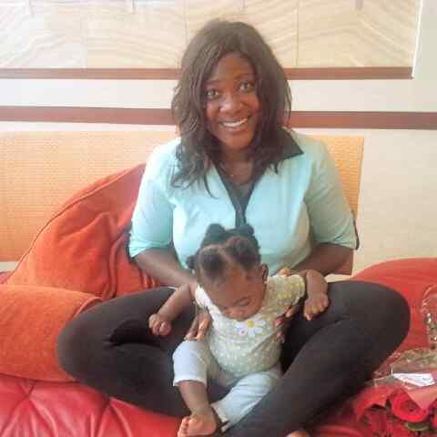 mercy johnson daughter dubai