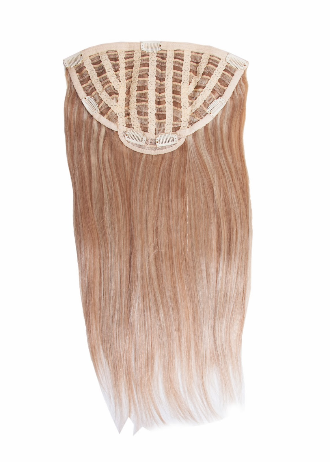 Glamour Extensions One Piece Clip In Human Hair Extensions Human