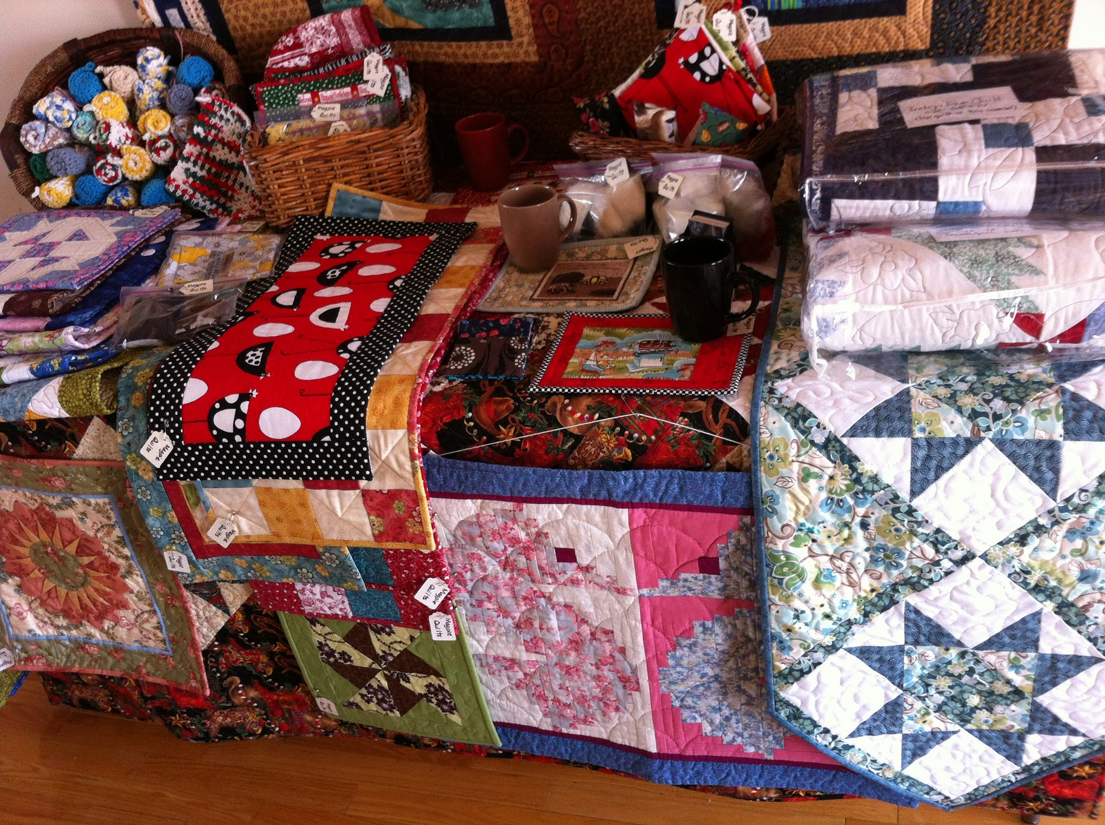Magpie quilts 18th annual chestermere christmas craft sale for Quilt and craft show