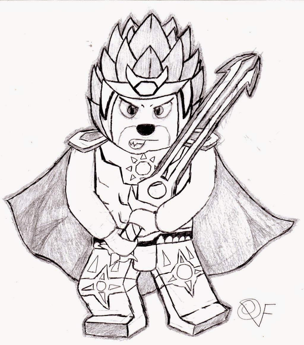pics for gt lego chima coloring pages lion