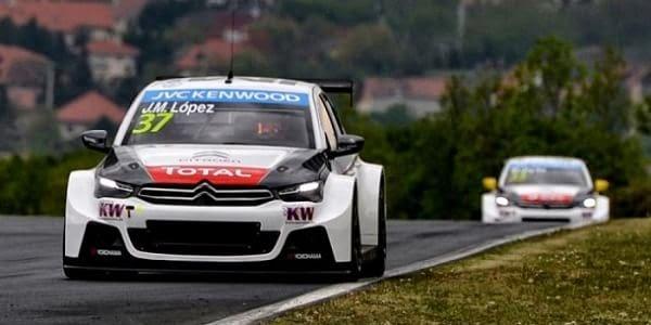 WTCC GP Hungría Pechito López