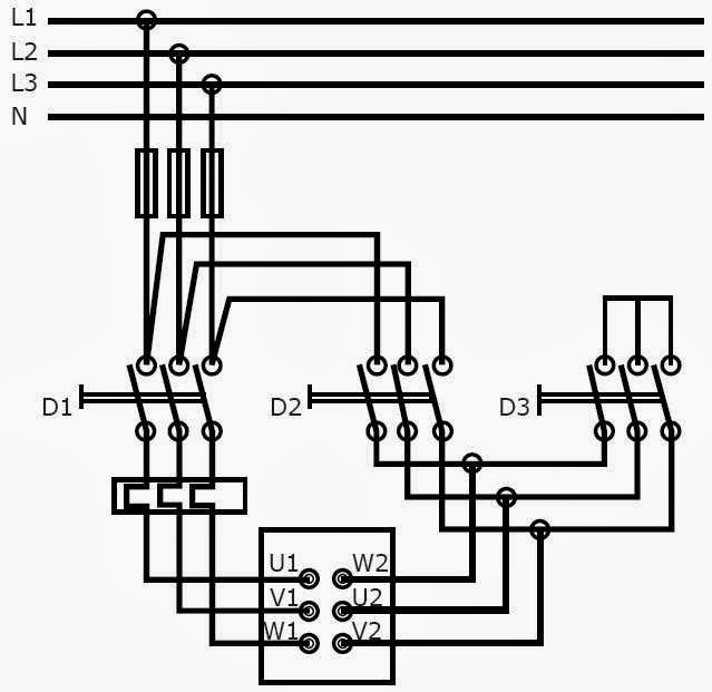 5 Star Delta Starter Control Wiring Diagram : Star delta circuit electrical electronic technology
