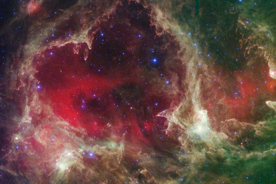 Resultado de imagen de En el centro de la Nebulosa del Corazón ¿Qué poderes