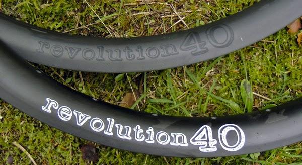 Revolution40 Carbon Rims - Graphics