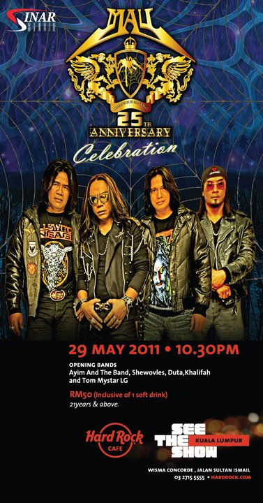 Event: May 25th Anniversery
