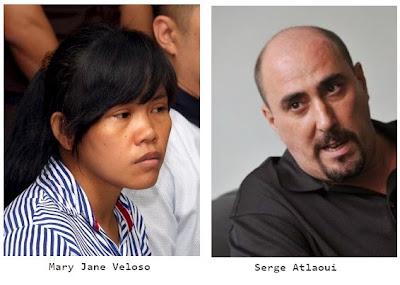 Filipina Mary Jane Veloso, Frenchman Serge Atlaoui