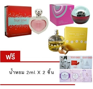 Laurelle Parfums น้ำหอม True Love + Love me love me not
