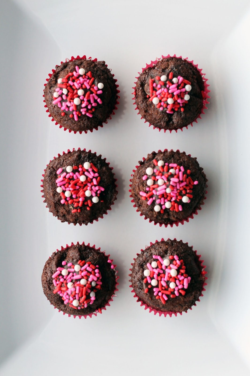 Brownie Hearts And Brownie Bites Recipe — Dishmaps