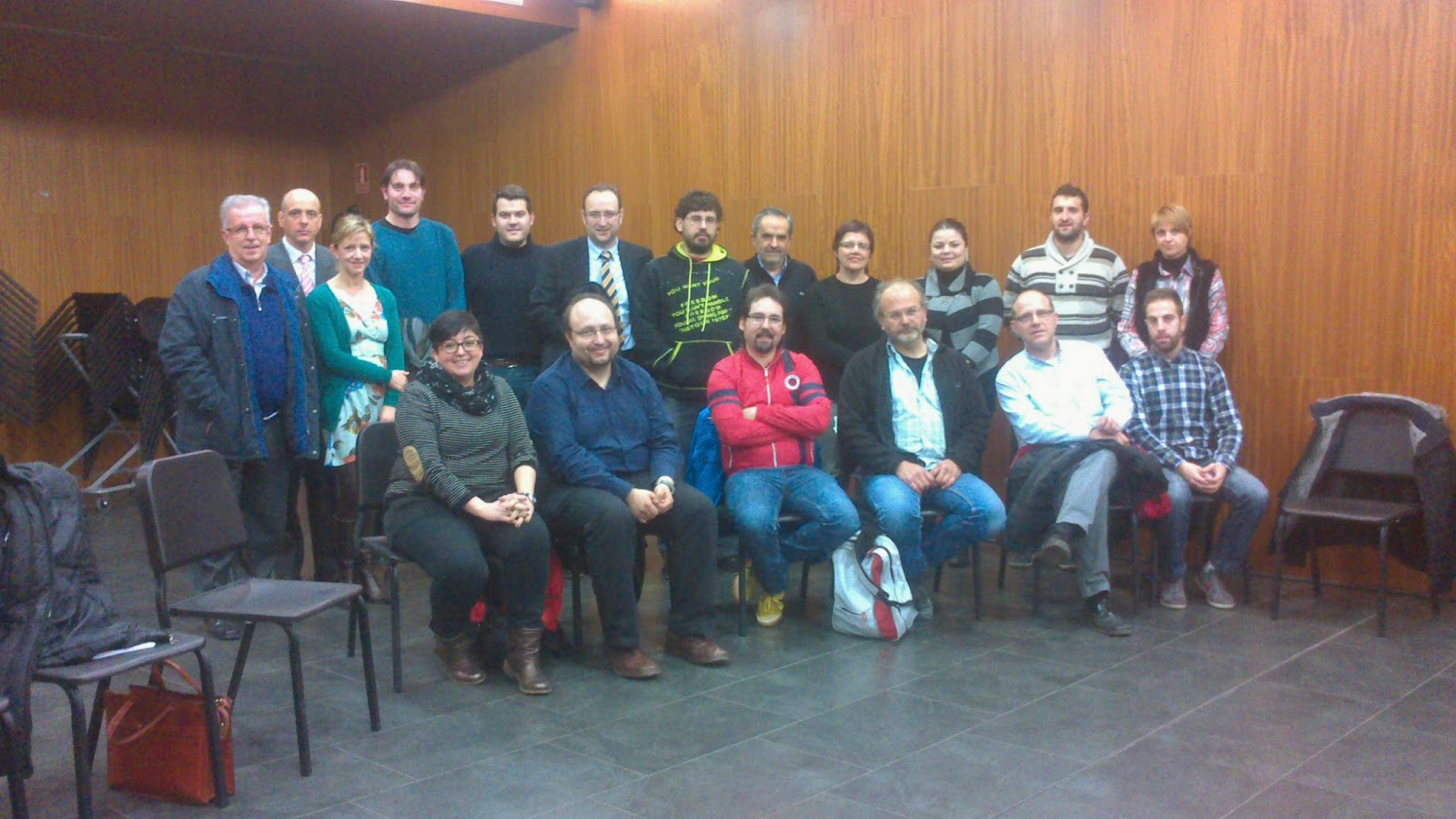 Asistentes inauguración Innova Teruel