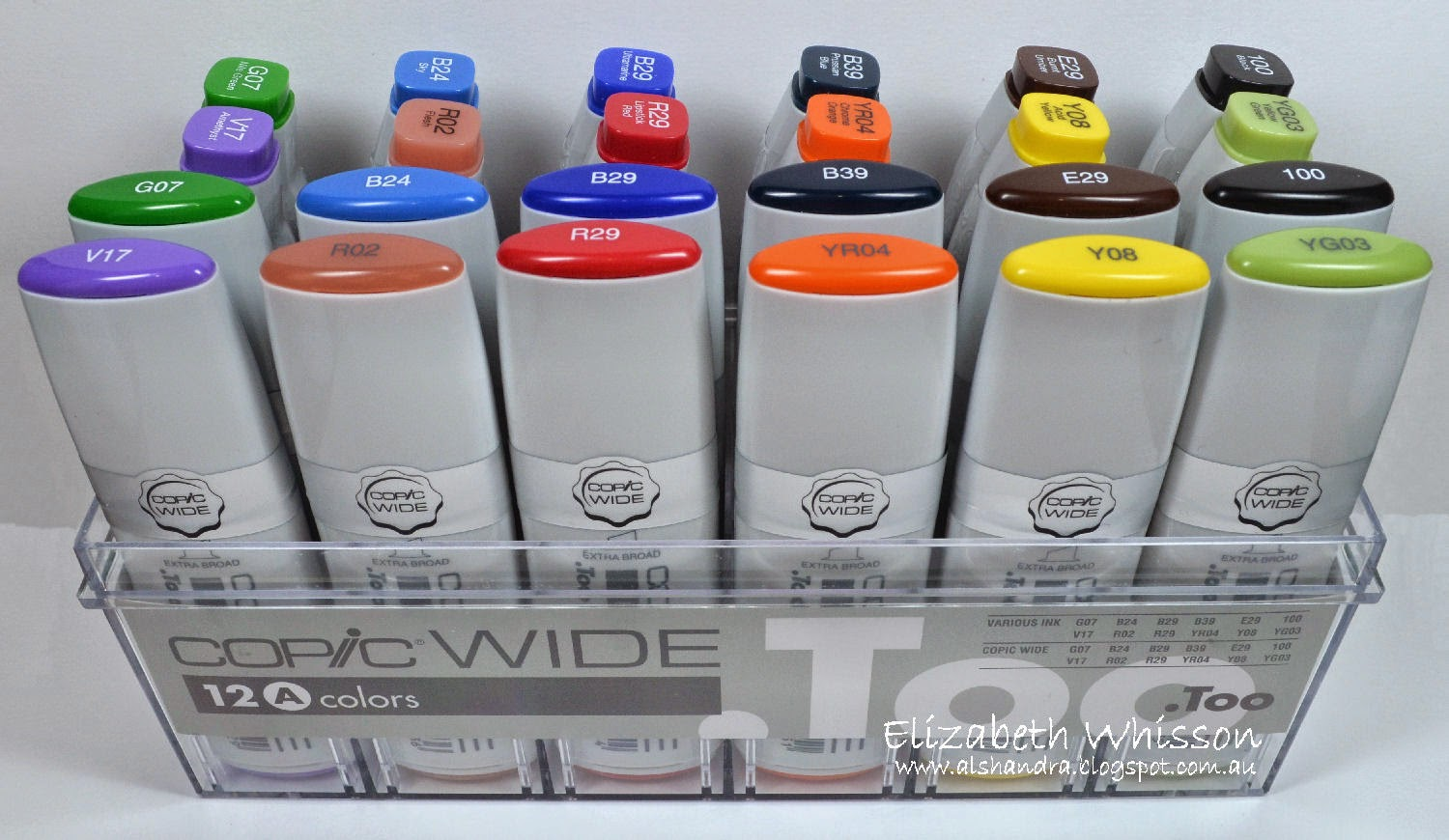 Copic, markers, Copic Wide, #WinterWIDE, competition, winner, .Too, Copics, various ink, Elizabeth Whisson