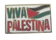 Viva Palestina Badge