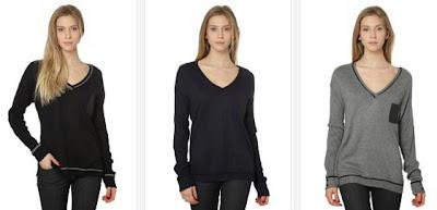 jersey negro mujer