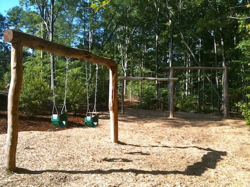 New Play Equipment at Mary Holmes Park
