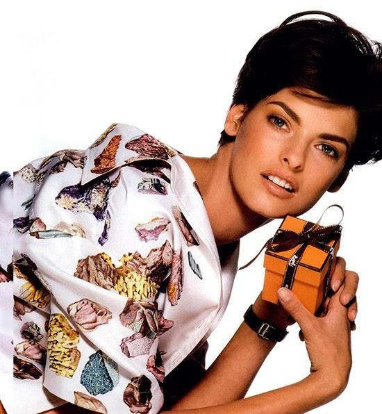 Linda Evangelista Hermès