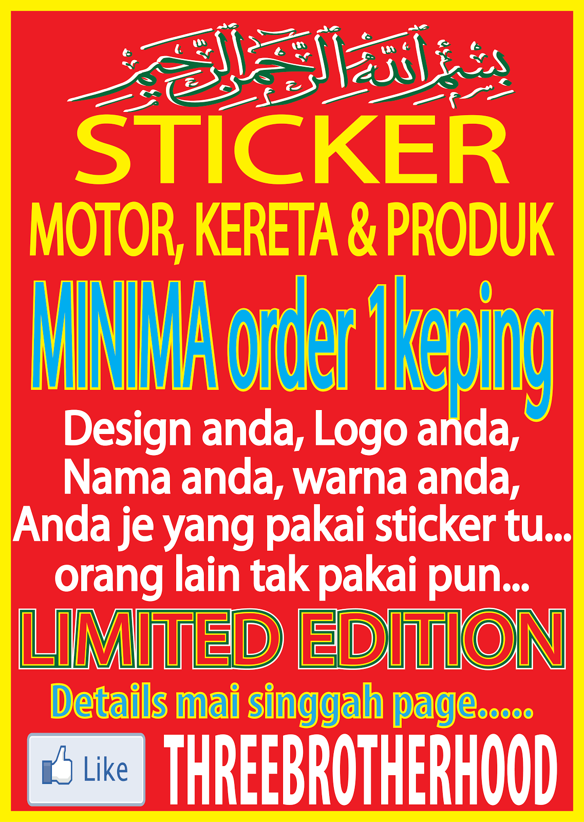 STICKER MINIMA 1pc