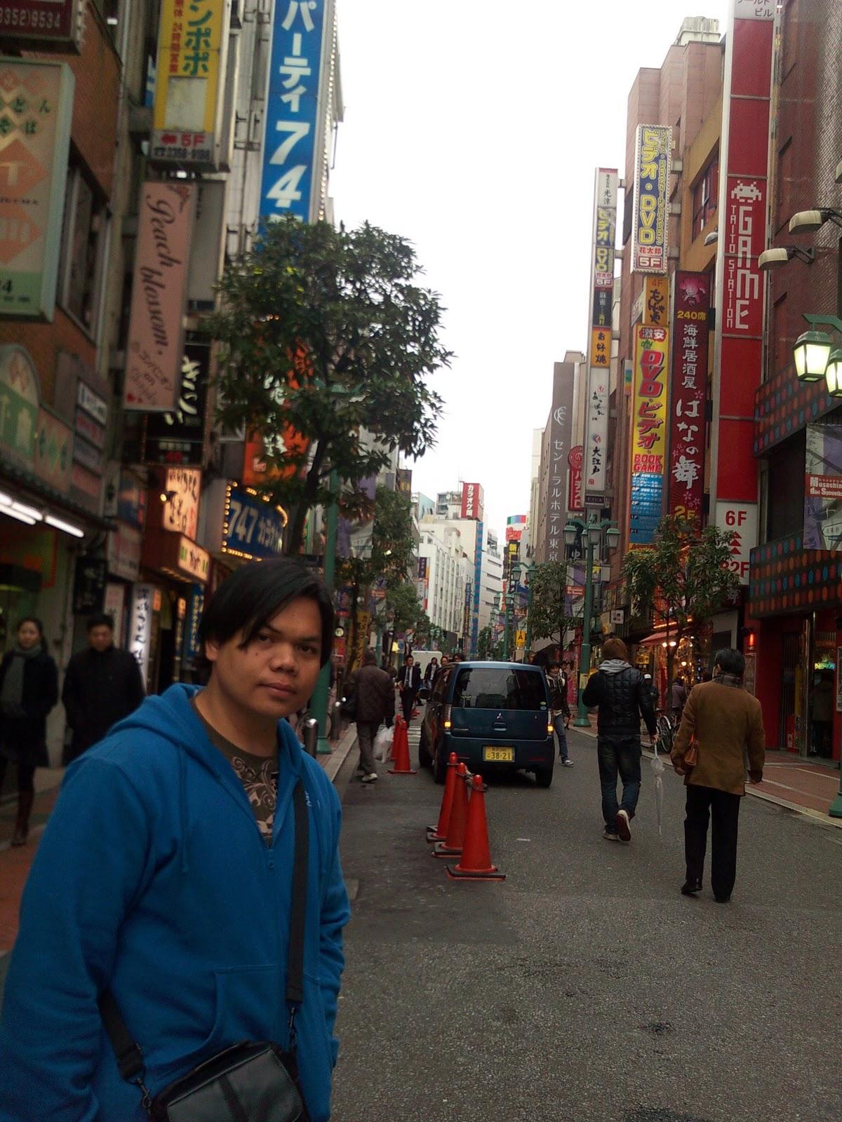Tokyo Japan Shinjuku Station Kabukicho