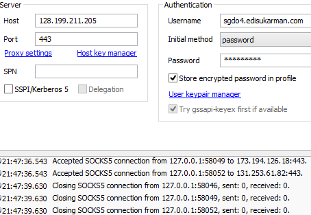 SSH Account Server Singapura (SG.DO) Gratis 28 Oktober 2014