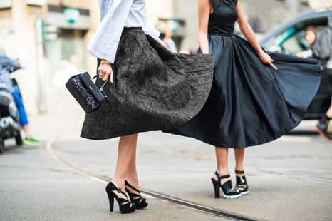 How to make a midi skirt work for... work!