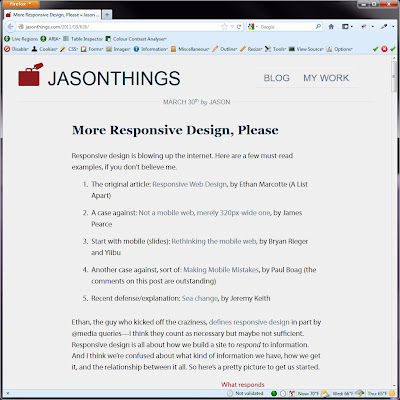 Screen shot of http://jasonthings.com/2011/03/626/.