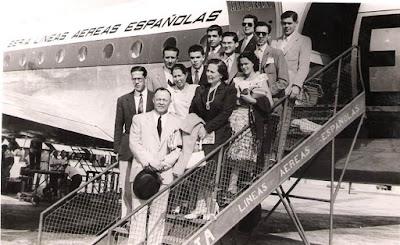Equipo lisboeta de ajedrez en 1951