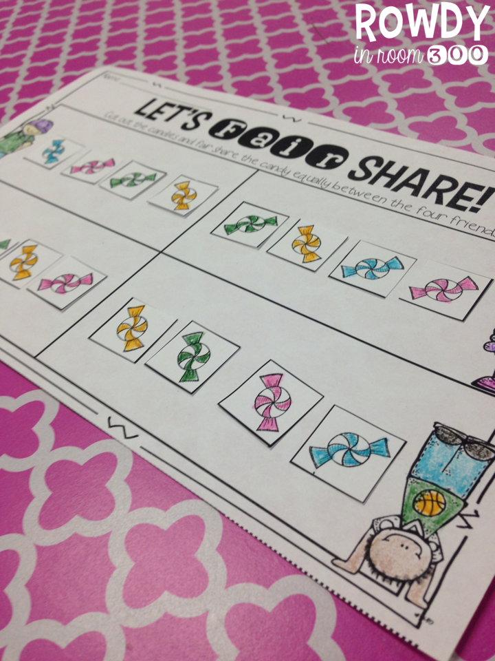 http://www.teacherspayteachers.com/Product/Fair-Share-A-Mini-Unit-1236442