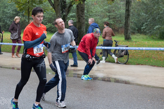 struggling runners