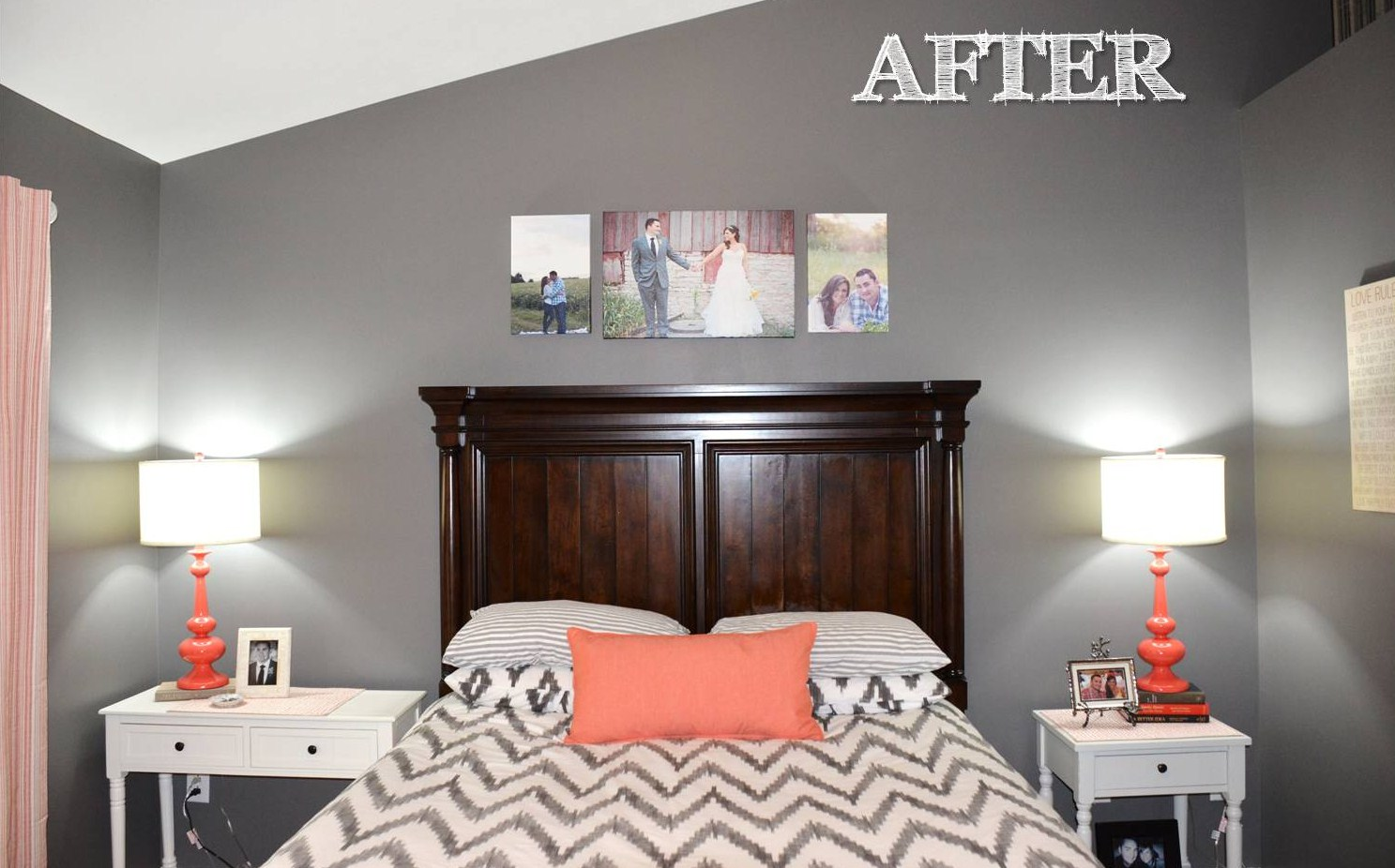 Jessica stout design coral gray master bedroom my home for Design my home