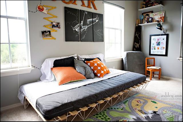 åpent hus: tøft gutterom / cool boy's room