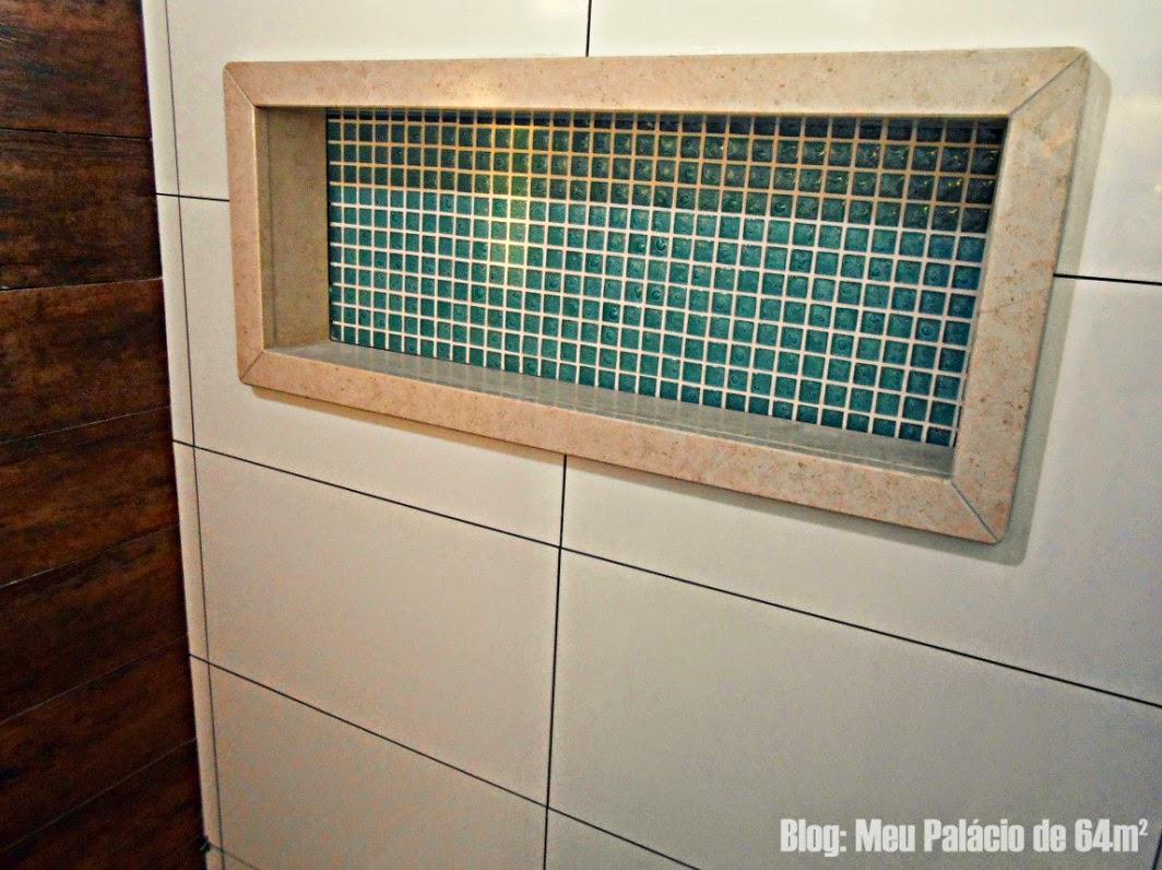 nicho banheiro #62422C 1064x796 Banheiro Com Nicho Como Fazer