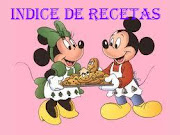 INDICE DE RECETAS