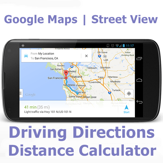 how to get your street on google maps