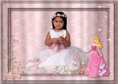 Marco para Foto de Princesas Disney