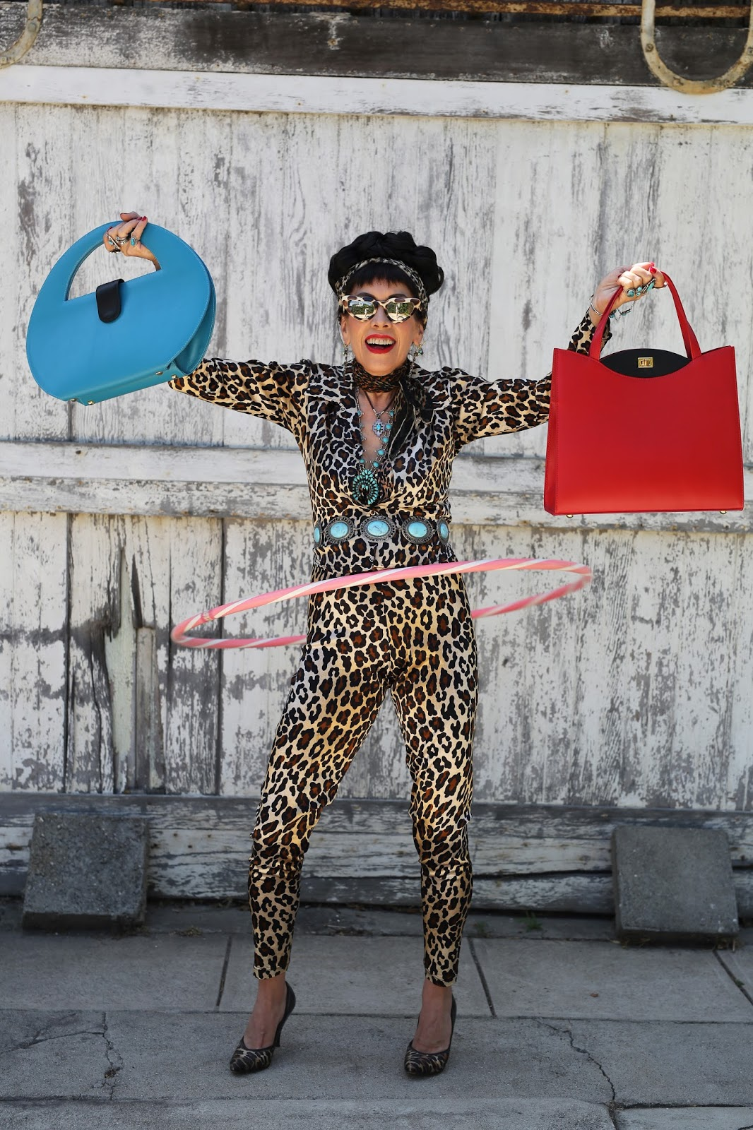 Streetstyle cực chất của những fashionista bô lão ảnh 30