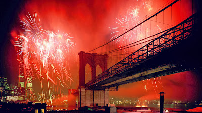Celebration brooklynbridge new york city wallpapers