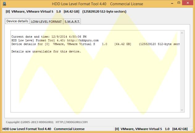 HDD Low Level Format 4.40 Full Serial Keys