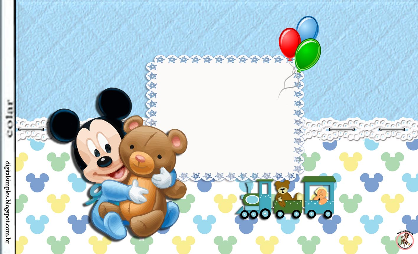 Mickey Mouse Birthday Invitations for adorable invitations ideas