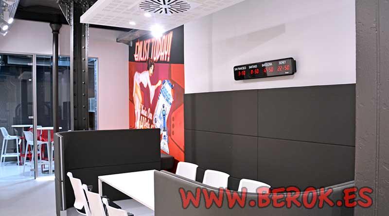 Berok graffiti mural profesional en barcelona decoraci n for Oficina correos barcelona
