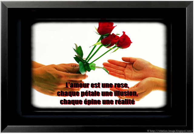 citation et image d'amour