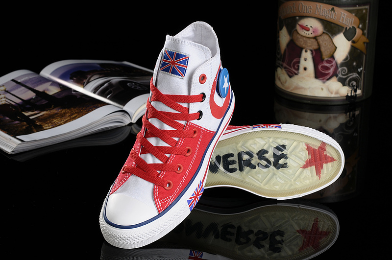 907fda65ec65 ireland 2012 converse uk flag london olympic commemorative edition blue red  high tops canvas all star shoes c63ac c9754  shop converse olympic beckham  shoes ...